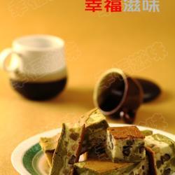 大理石抹茶花豆蜂蜜蛋糕的做法[图]