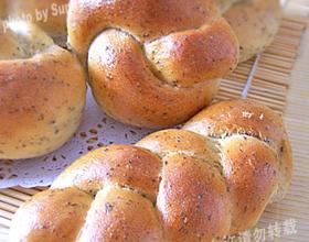 黑豆渣蜂蜜小面包