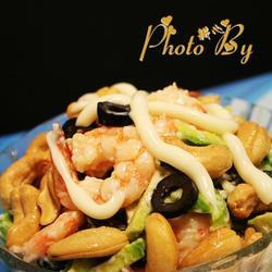 牛油果虾仁沙律的做法[图]