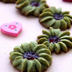 绿茶甜心曲奇的做法[图]