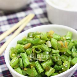 青椒豇豆碎的做法[圖]