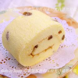 低糖葡萄干蛋糕卷的做法[图]