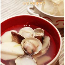 文蛤绿笋汤的做法[图]