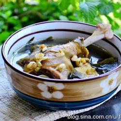 绿豆海带煲鸭汤的做法[图]
