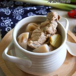 蓮藕腔骨湯的做法[圖]