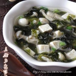 真姬豆腐紫菜湯的做法[圖]