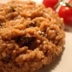 藏红花牛肝菌菇意大利烩饭的做法[图]