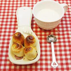 蜂蜜牛奶小面包的做法[圖]