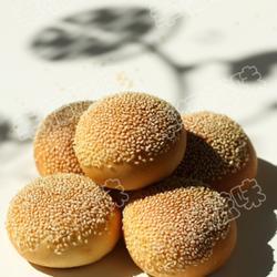 芝麻小面包的做法[圖]