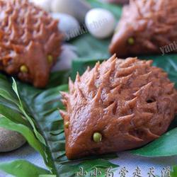 巧克力小刺猬饅頭的做法[圖]