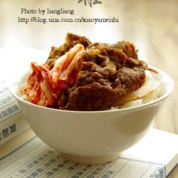 洋葱牛肉饭的做法[图]