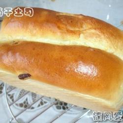 汤种葡萄干土司的做法[图]