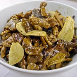 蘑菇炒肉片的做法[图]