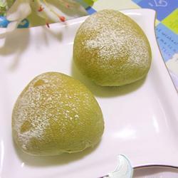 绿茶豆沙包的做法[图]