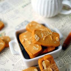 咖啡摩卡口味腰果餅干的做法[圖]