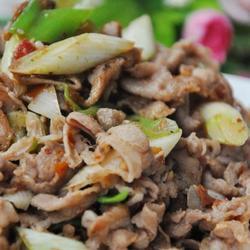 大葱炒羊肉片的做法[图]