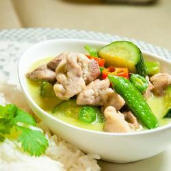 泰式綠咖喱雞的做法[圖]
