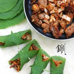 蘇葉辣白菜烤肉包的做法[圖]