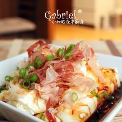 木鱼花甜酱油渍豆腐的做法[图]