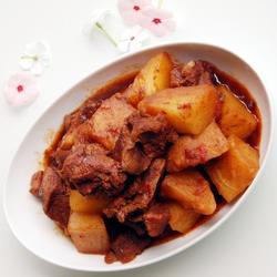 川味土豆炖牛腩的做法[图]