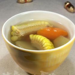 雪莲果甜玉米汤的做法[图]