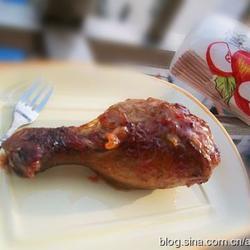 茄汁蜂蜜烤鸡腿的做法[图]