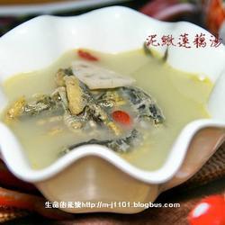 泥鳅莲藕汤的做法[图]