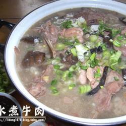 松蘑兔肉火锅的做法[图]