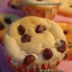 酸奶蜜豆小蛋糕的做法[图]