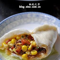 玉米胡萝卜卤肉包子的做法[图]