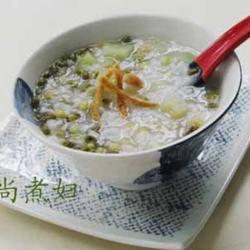 西瓜皮绿豆粥的做法[图]