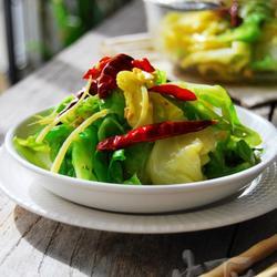 凉拌圆白菜的做法[图]