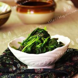 清炒莧菜梗的做法[圖]