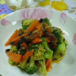 豆豉鲮鱼西兰花的做法[图]