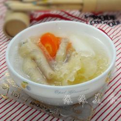 淮山银耳鸡脚汤的做法[图]