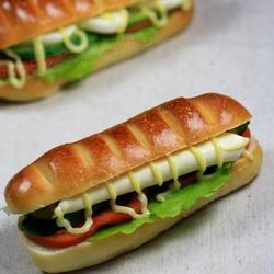 鸡蛋奶酪三明治的做法[图]