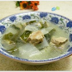 冬瓜排骨海帶湯的做法[圖]