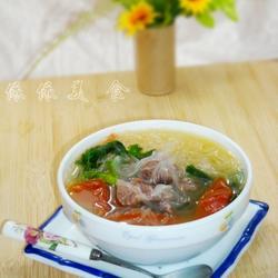 番茄牛肉粉丝汤的做法[图]