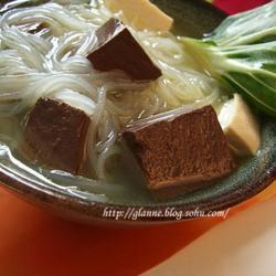 鸭血豆腐粉丝汤的做法[图]