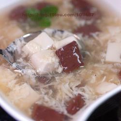 鸭血豆腐羹的做法[图]