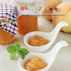 柠檬蜜桃水果酱的做法[图]