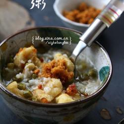 酸豇豆虾皮粥的做法[图]