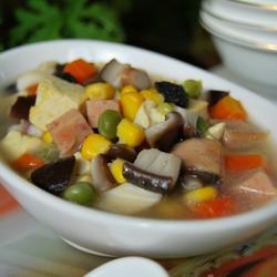 八宝豆腐汤的做法[图]