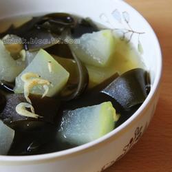 虾米冬瓜海带汤的做法[图]