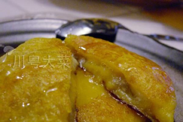 香蕉红薯饼