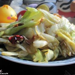 猪油手撕圆白菜的做法[图]