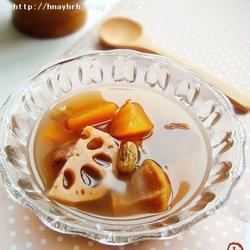 木瓜蓮藕栗子甜湯的做法[圖]