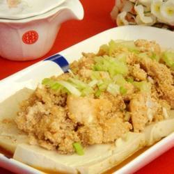 鱼子拌豆腐的做法[图]