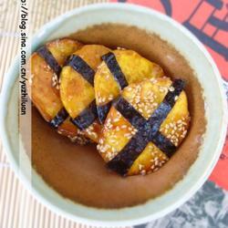海苔蜜汁红薯脯的做法[图]