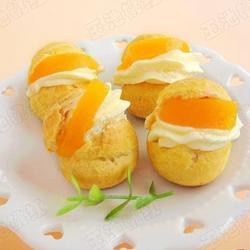 黄桃奶油泡芙的做法[图]